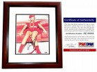 Anna Kournikova Signed - Autographed Sexy Model - Tennis 8x10 inch Photo MAHOGANY CUSTOM FRAME - PSA/DNA Certificate of Authenticity (COA)