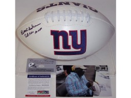 Ottis Anderson Autographed Hand Signed New York Giants Logo Football - PSA/DNA