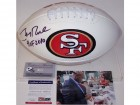 Jerry Rice Autographed Hand Signed San Francisco 49ers Logo Football - PSA/DNA