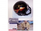 Bobby Bowden Autographed Hand Signed Florida State Seminoles Black Mini Helmet - PSA/DNA