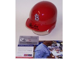 Ozzie Smith Autographed Hand Signed St. Louis Cardinals Mini Batting Helmet - PSA/DNA