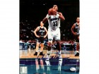 Alonzo Mourning Autographed Charlotte Hornets 8x10 Photo