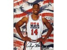 Alonzo Mourning Signed - Autographed Dream Team USA 8x10 Olympic Photo