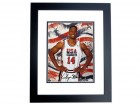 Alonzo Mourning Autographed Dream Team USA 8x10 Olympic Photo BLACK CUSTOM FRAME