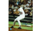 "Autographed Rick Aguilera Minnesota Twins 8x10 Photo Inscribed ""91 WS Champs"""