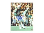 "Autographed Dick Anderson Miami Dolphins 8x10 Inscribed ""73 Def POY"" (Player of the Year)"