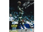 "Autographed Nate ""Tiny"" Archibald Boston Celtics 8x10 Photo Inscribed ""81 NBA Champs"""