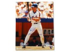Autographed Wally Backman New York Mets 16x20 Photo Inscribed '86 WS Champs