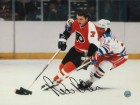 Bill Barber Philadelphia Flyers Autographed 8x10 Photo