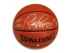 "Autographed Rick Barry Indoor/Outdoor Basketball Inscribed ""HOF 1987"" & ""#24"""