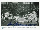 "Chuck Bednarik Philadelphia Eagles Autographed 8x10 Photo Inscribed ""HOF 67"""