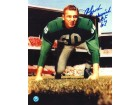 "Autographed Chuck Bednarik 8x10 Photo Inscribed ""HOF 67"""