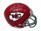 "Bobby Bell Kansas City Chiefs Autographed Mini Helmet Inscribed ""HOF 83"""
