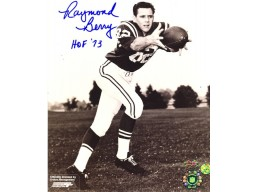 "Autographed Raymond Berry 8x10 Photo Inscribed ""HOF 73"""