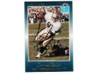 Jerome Bettis Notre Dame Fighting Irish Autographed Slam Football Card #3 -Running-