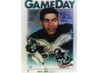 Autographed Timmy Brown Philadelphia Eagles 8x10 Photo of the Gameday Program