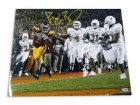 "Reggie Bush USC Trojans Autographed 16x20 Photo ""Touchdown vs Texas"""