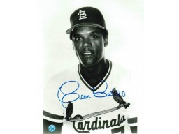 Autographed Cesar Cedeno St. Louis Cardinals 8x10 Photo