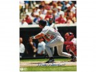 "Marty Cordova Minnesota Twins Autographed 8x10 Photo Inscribed ""ROY 95"". This Item comes with a COA from Autograph-Sports."