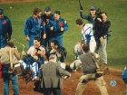Ron Darling & Howard Johnson New York Mets Dual Autographed 8x10 Photo -Celebrating-