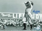 "Bob Feller Cleveland Indians Autographed 8x10 Photo Inscribed ""HOF 61"" -Windup-"
