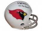 "Mel Gray St. Louis Cardinals Autographed Mini Helmet Inscribed ""4X Pro Bowl"""