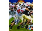 Autographed AJ Hawk Ohio State Buckeyes 8x10 Photo