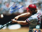 "Autographed Tommy Herr St. Louis Cardinals 8x10 Photo Inscribed ""82 WS Champs"""
