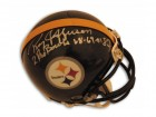 "Roy Jefferson Pittsburgh Steelers Autographed Mini Helmet Inscribed ""2 Pro Bowls 68-69"""