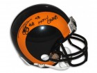 "Todd Lyght St. Louis Rams Autographed Mini Helmet Inscribed ""SB XXXIV Champs"""