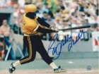 "Bill Madlock Pittsburgh Pirates Autographed 8x10 Photo Inscribed ""Mad Dog"" -Swing-"
