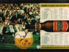 Autographed Tom Matte Baltimore Colts 8x10 Photo from Program
