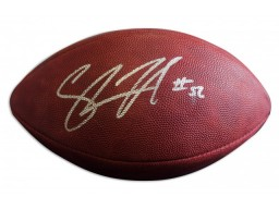 Shawne Merriman Autographed Official NFL Football