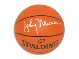 Johnny Newman Autographed Indoor/Outdoor Basketball