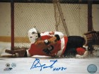"Bernie Parent Philadelphia Flyers Autographed 8x10 Photo Inscribed ""HOF 84"""