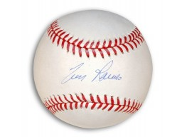 Autographed Tim Raines MLB Baseball