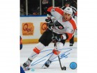 Zac Rinaldo Philadelphia Flyers Autographed 8x10 Photo