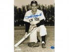 Phil Rizzuto New York Yankees Autographed 8x10 Photo -Taking a Knee-