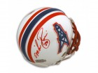 Mike Rozier Houston Oilers Autographed Mini Helmet