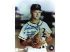 "Autographed Bobby Shantz Kansas City Athletics 8x10 Photo Inscribed ""8 Gold Gloves 1957-67"""