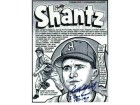 "Autographed Bobby Shantz Kansas City Athletics 8x10 Lithograph Inscribed ""8 Gold Gloves 1957-67"""