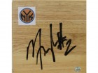 Maurice Taylor New York Knicks Autographed 6x6 Floor Board