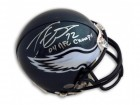 "Tra Thomas Philadelphia Eagles Autographed Mini Helmet Inscribed ""04 NFC Champs"""