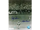Autographed Bobby Thomson and Ralph Branca Dual Signed 8x10 Photo