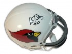Autographed Pat Tilley St. Louis Cardinals Mini Helmet