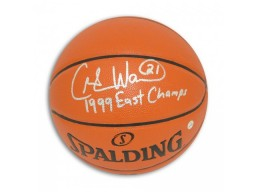 "Charlie Ward Autographed Indoor/Outdoor Basketball Inscribed ""1999 East Champs"""