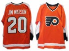 "Jim Watson Philadelphia Flyers Autographed Orange Jersey Inscribed ""2X SC Champs"""
