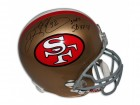 "Ricky Watters San Francisco 49ers Autographed Replica Helmet Inscribed ""3 TDS SBXXIX"""
