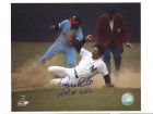 "Autographed Roy White New York Yankees 8x10 Photo Inscribed ""1977-78 WSC"""