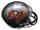 "Autographed Carnell ""Cadillac"" Williams Buccaneers Mini Helmet"